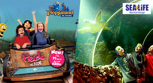 Sealife et Plopsaland