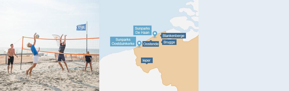 Vacances sur la Cote Belge à Sunparks