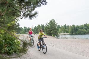 sunparks fietsvakantie
