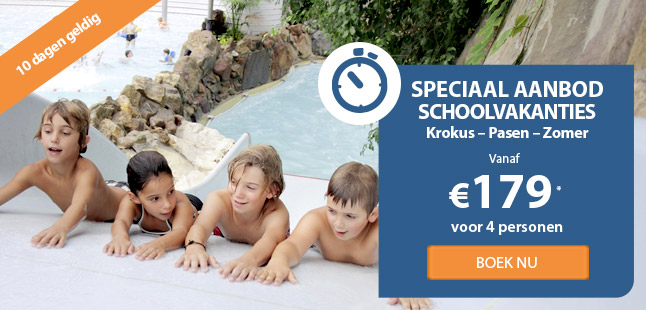 speciaal aanbod schoolvakanties