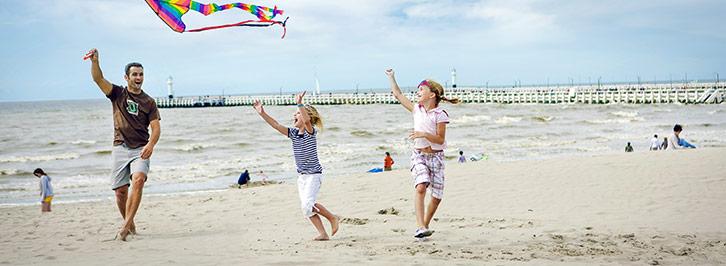 Vakantiehuizen De Haan aan zee Belgische kust Sunparks