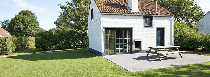 Ferienhäuser De Haan aan zee Belgische Küste Sunparks
